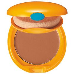 Tanning Compact Foundation SPF6, BRONZE - Shiseido, Make-up & Selbstbräuner