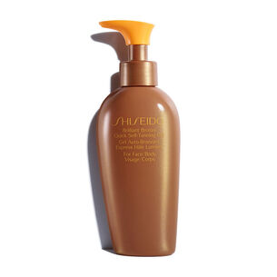 Brilliant Bronze Quick Self-Tanning Gel - SHISEIDO, Bräune ohne Sonne