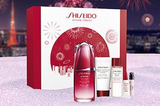 Weihnachtssets von Shiseido